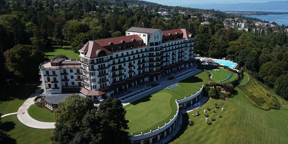 Evian resort h tel royal s minaire et r union vian - Hotel royal evian les bains ...